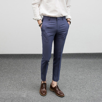 [BF1015]Ocean Stripe Slacks( 1 color S/M/L size )