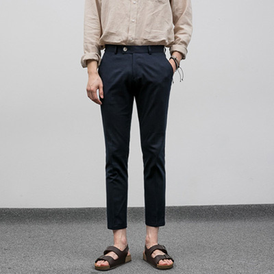 [BF2423]Rose Linen Slacks( 4 color S/M/L size )
