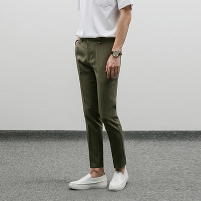[BP0235]Edge Wrinkle-free Slacks( 3 color S/M/L size )