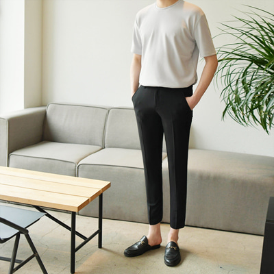 [BB2317]Daily Banding Slacks( 3 color S~3XL size )