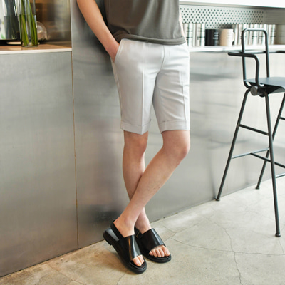 [BE1396]TR Banding Short Pants(  4color M/L/XL size )
