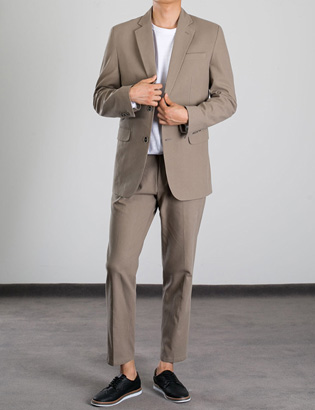 [BP2278]Lupin Beige Suit( 1 color M/L size )