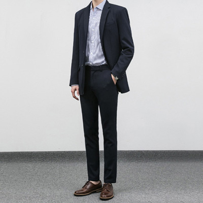 [BC2898]Mas Suit set-Navy( 1 color M/L/XL size )