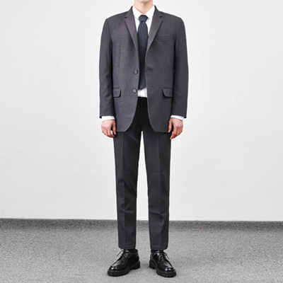 [BC2899]Mas Suit set-grey( 1 color M/L/XL size )