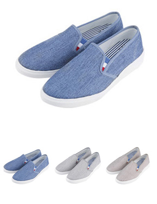 [BE0276]Tenshion Slip-on( 3 color 250~280 size )