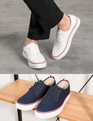 [BL1312]Tom Low Sneakers( 2 color 250~280 size )