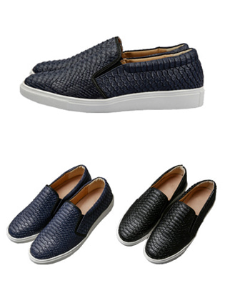 [BL2749]Crocodile Slip-on ( 2 color 250~280 size )