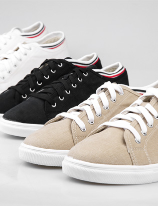 [BS0743]Louis Low Sneakers( 3 color 250~280 size )