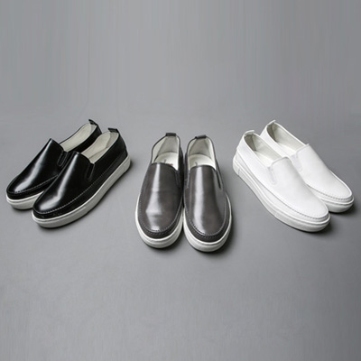 [BP0239]4cm Gloss slip-on( 3 color 250~280 size )