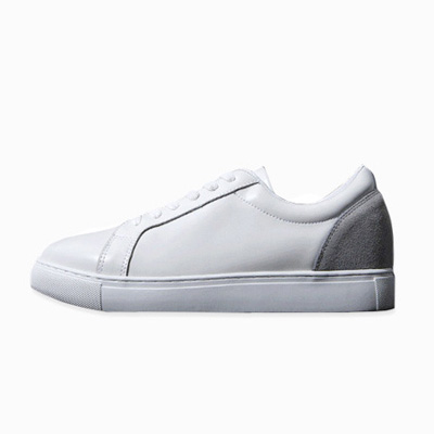 [BP2392]7cm spelu Leather Sneakers [handmade]( 1 color 250~280 size )