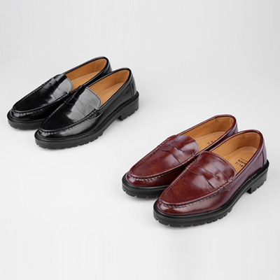 [BS0761]Chopin Semi Loafer( 2 color 250~280 size )