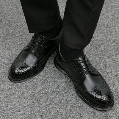 [BS0646]Wing-tip Shoes( 2 color 250~280 size )