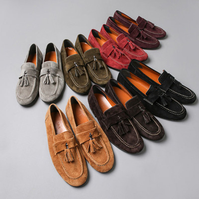 [BX0844][Handmade] Stitch Shoes( 7 color 250~280 size )