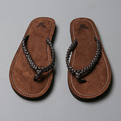 [BJ0884]Rope Flip-flops( 2 color 250~280 size )