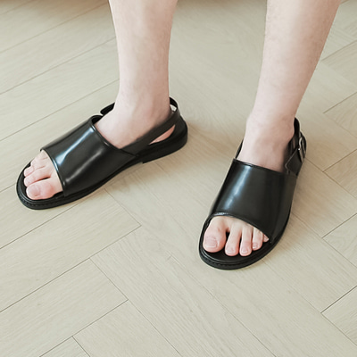 [BE2563]One Slip Sandals( 1 color 250,255,260,265,270,275,280 size )
