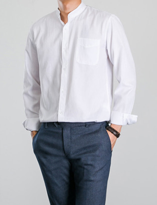 [BP0156] Oxford China Shirts( 4 color S~XL size )