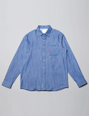 [BS0736]Pocket Denim Shirts( 3 color M/L size )