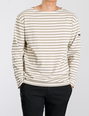 [BP2282]Howard Stripe Tee( 3 color Free size )