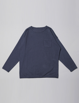 [BS0771]Slug Pocket Tee( 3 color Free size )