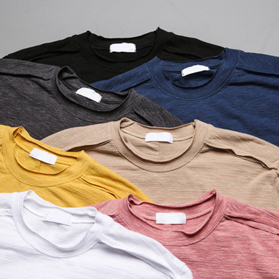 [BC1536]Cutting Half Tee( 7 color Free size )