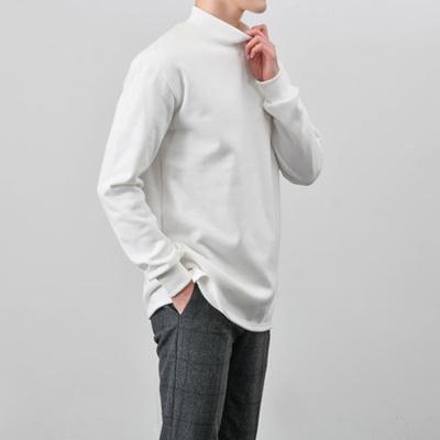 [BX2993]Warm Half-neck Tee( 5 color Free size )