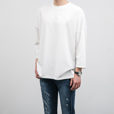 [BC2260]Snug Boxy Tee( 5 color Free size )