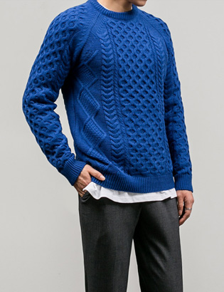 [BT1129]Screw Wool Knit( 8 color M/L size )