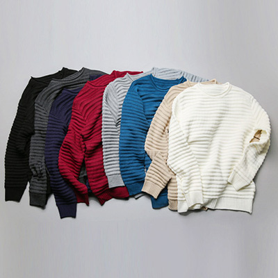 [BA1176]Daze Embo Knit( 8 color Free size )