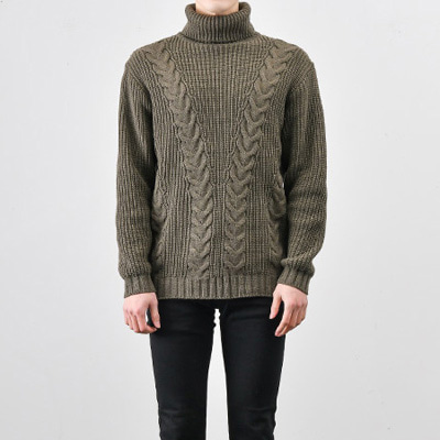 [BX2270]Line Twist Knit( 5 color Free size )