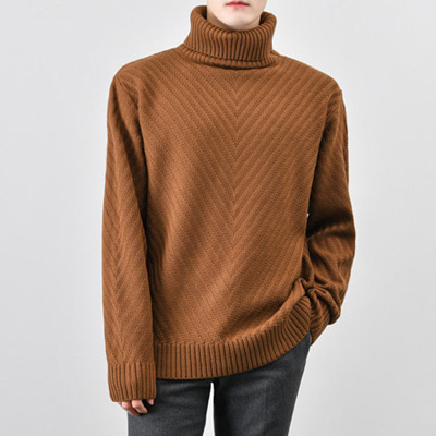 [BX2267]Arrow Pola Knit( 4 color Free size )