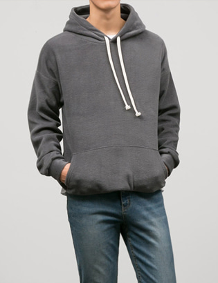 [BT2065]Cozy Fleece Hoodie( 6 color Free size )